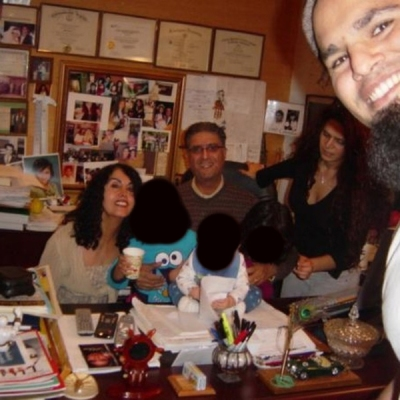 "Muhammad ""Mike"" Aazami: A Pedophile Living in Rockville, Maryland - Pictured with his family who have kept his pedophilia a secret (Faces of non-involved parties blacked out)"